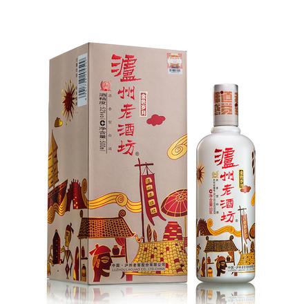 【2.9陆续发货】泸州老酒坊金色岁月52度500ml浓香型
