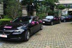 宝马5系跑婚车一年能挣多少钱