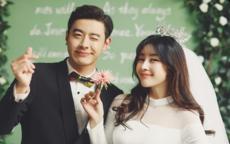 韩式婚纱照新娘发型2019