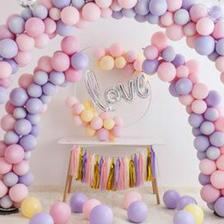 婚房气球布置图片卧室  气球装饰婚房的技巧