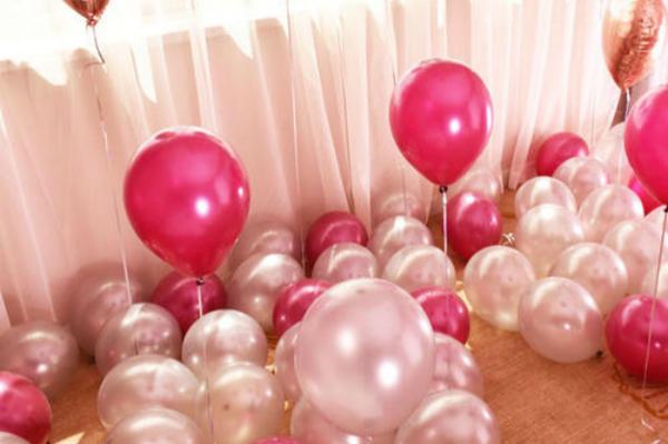 天女散花式气球