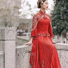 2019款新娘中式发型