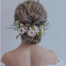 森系新娘发型大全 清新减龄仙气十足