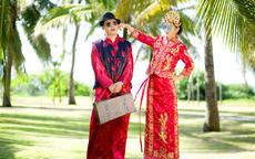 传统中式婚纱照怎么拍