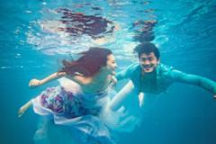 三亚水下婚纱照拍摄攻略和注意事项
