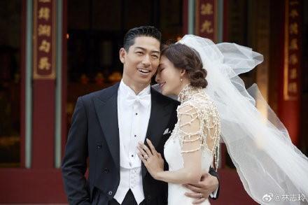 林志玲结婚现场照片1