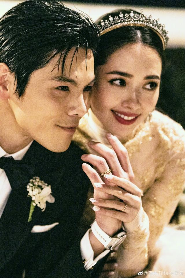 郭碧婷结婚皇冠