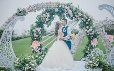 草坪婚礼图片 高清美图教你如何布置草坪婚礼