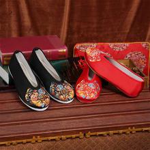 老北京布鞋男式复古中式婚鞋秀禾服新郎绣花鞋古装汉服鞋