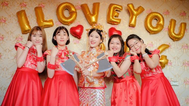 婚礼红包上的祝福语_古风简短结婚祝福语【婚礼纪】