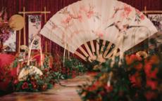 新中式婚礼布置现场图