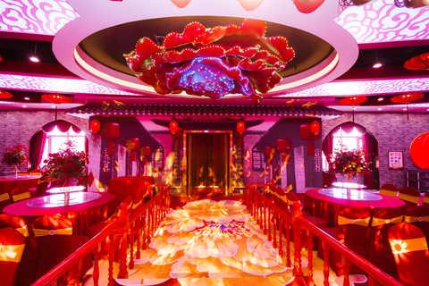 红楼婚礼主题酒店