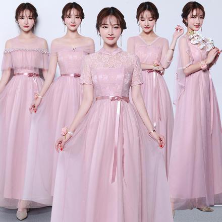 韩版甜美气质显瘦伴娘服