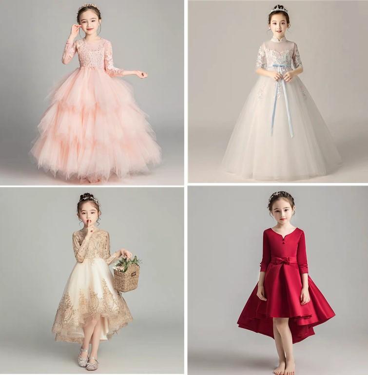 女童礼服款式
