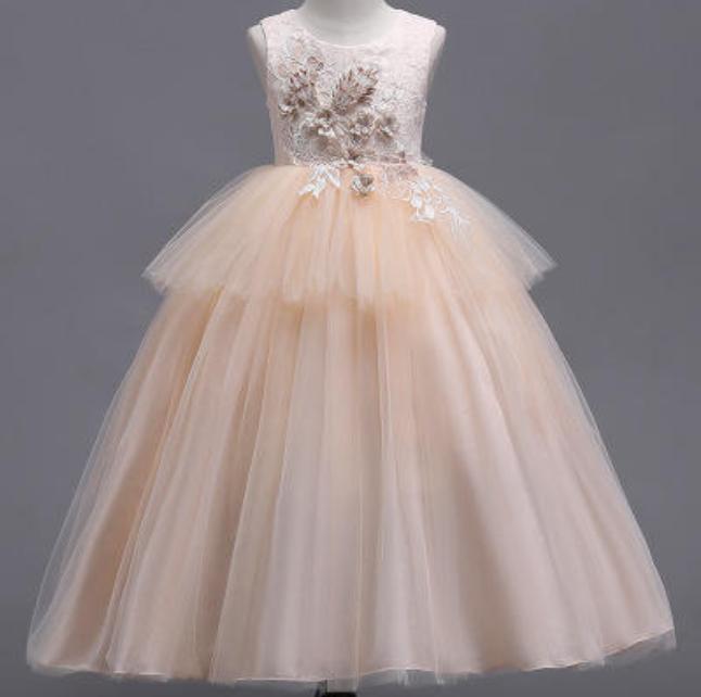 婚礼纪犀选女童礼服款式2
