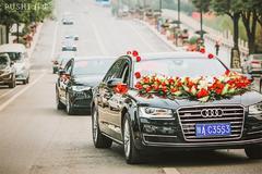 婚车头车装饰道具