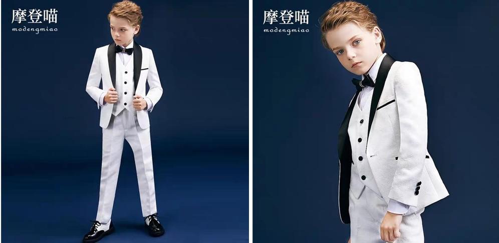 小男孩花童礼服