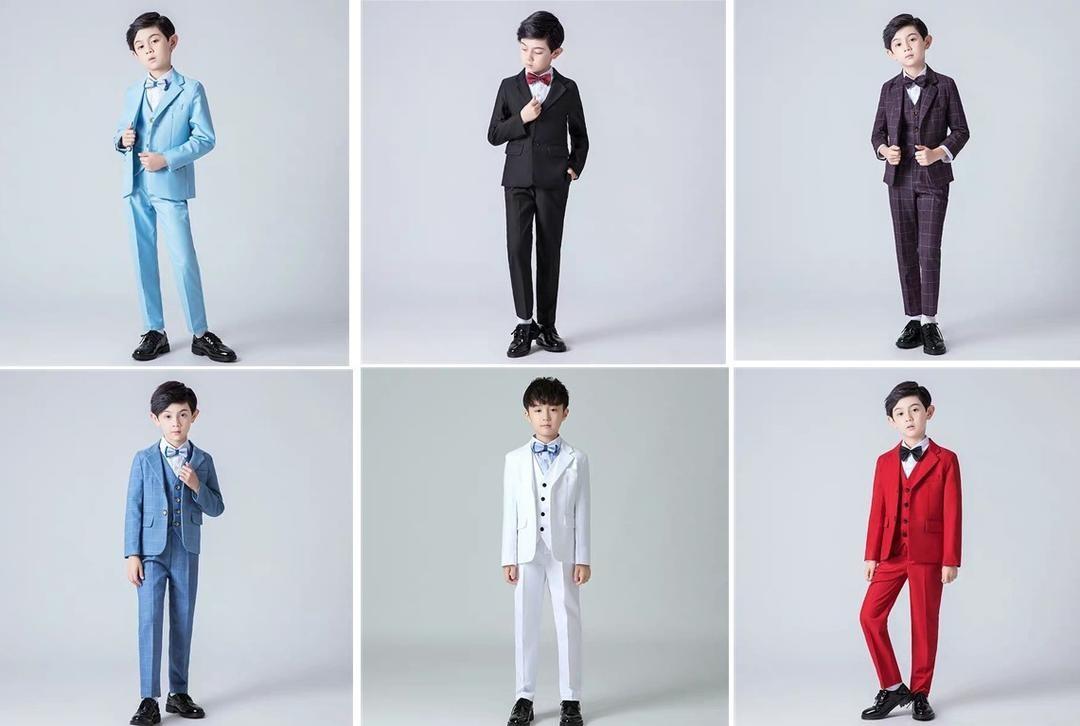 男童小西装款式