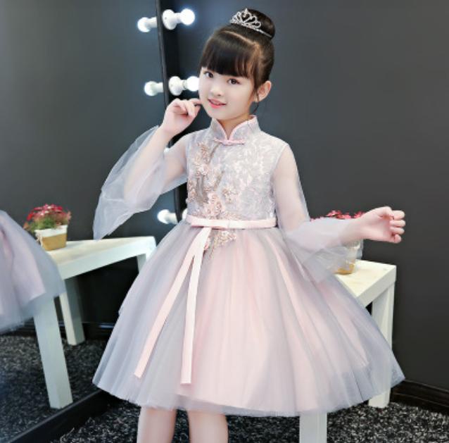 婚礼纪花童礼服1