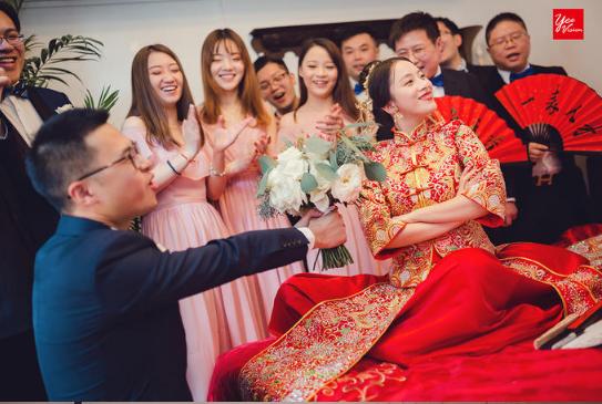 婚禮必拍——結親環節