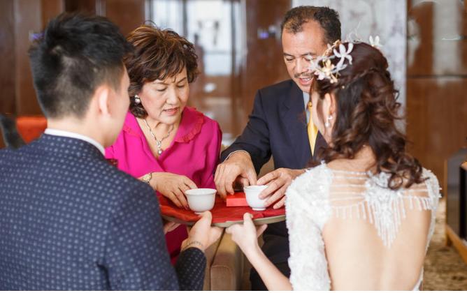 婚礼必拍——敬茶环节