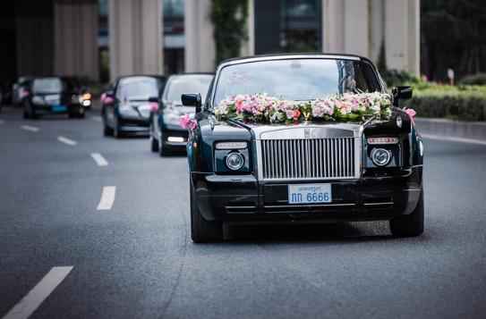 婚礼必拍——迎亲车队