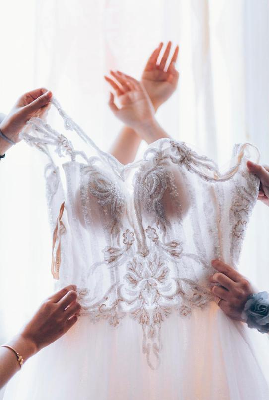 婚礼必拍——新娘换装