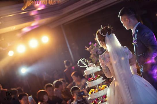 婚礼必拍——切蛋糕环节