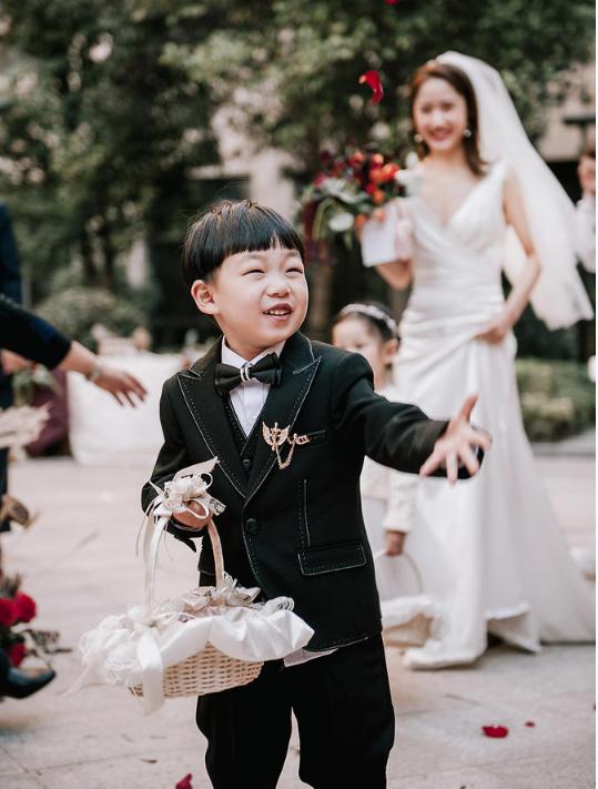 婚礼必拍——父花童