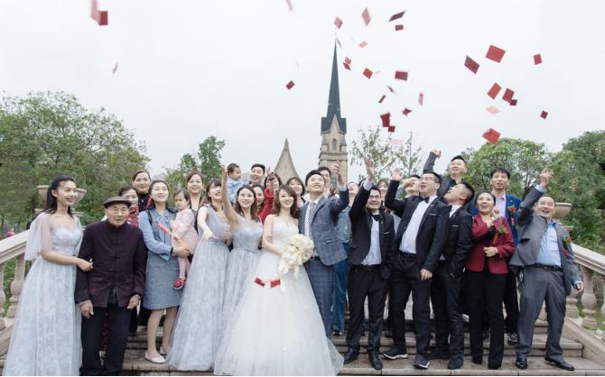 婚礼必拍——大合照