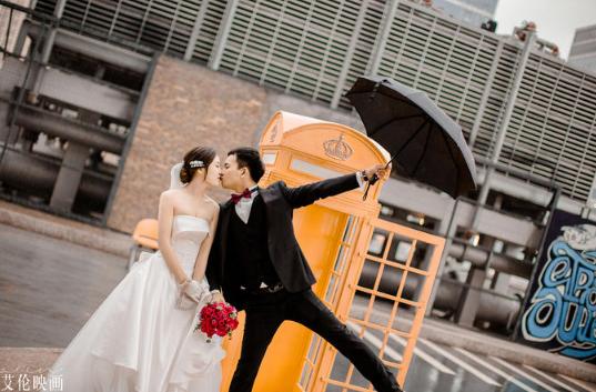 婚礼必拍——新人室外合影