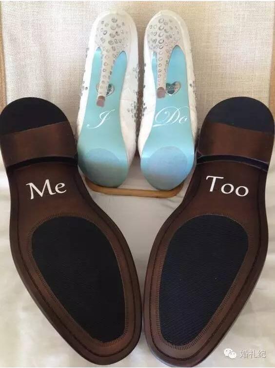 DIY婚鞋贴