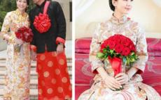 中式礼服图片大全