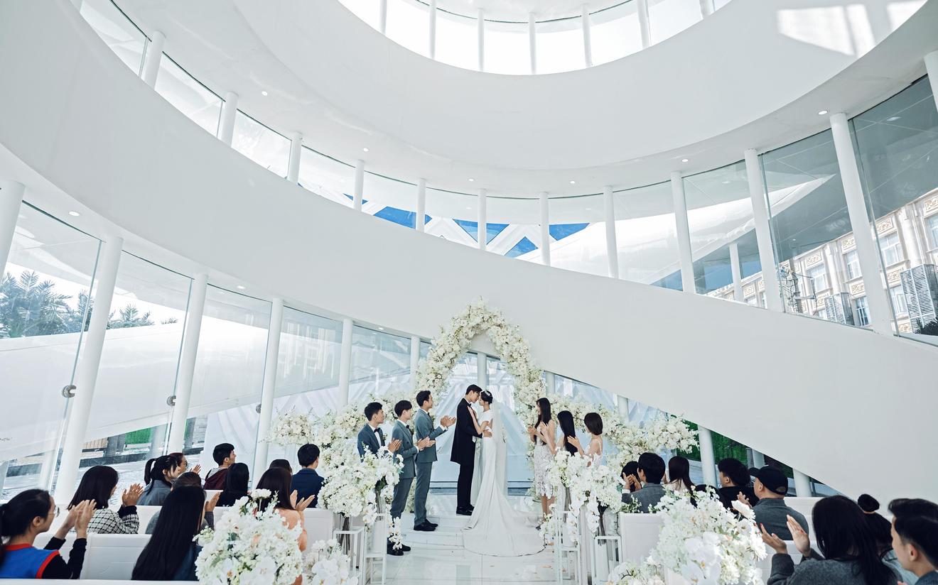 花嫁丽舍海岛婚礼殿堂