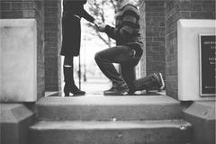求婚下跪跪哪个腿