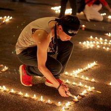 求婚蜡烛现场布置图片 最浪漫的求婚蜡烛布置方式