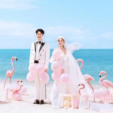 婚纱照海边外景图片 海边婚纱照选哪里拍