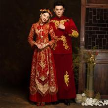 中式男士复古礼服