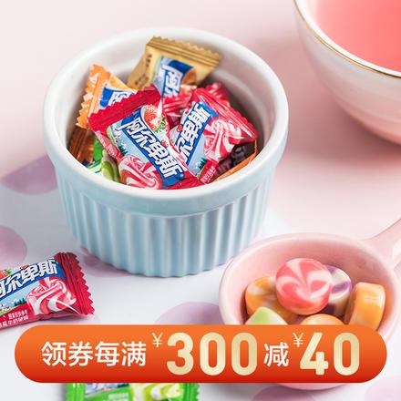 阿尔卑斯硬糖 500克约130颗