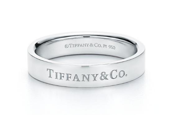 Tiffany铂金对戒