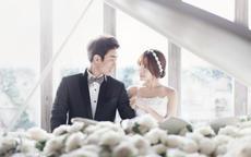 韩式新娘婚纱照怎么拍最韩范