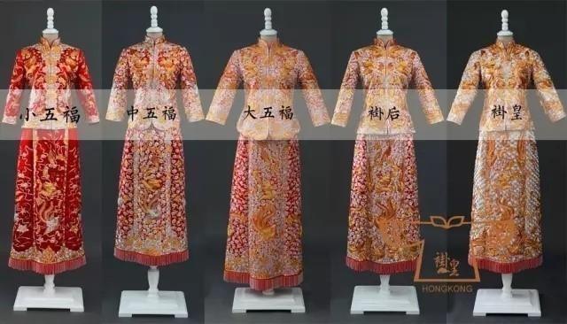唐装结婚礼服龙凤褂款式
