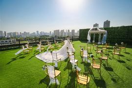 草坪婚礼仪式区
