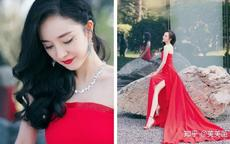 红色晚礼服图片大全