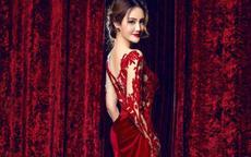 红色婚纱图片 新娘不可错过的红色婚纱礼服全集