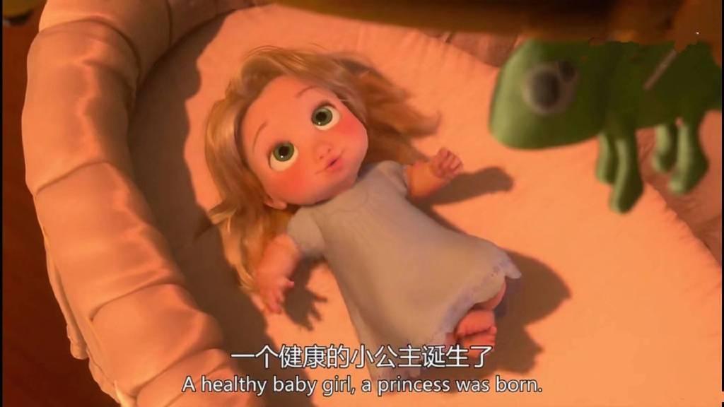 一个健康的小公主诞生了