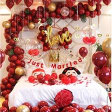 浪漫婚房布置图片大全