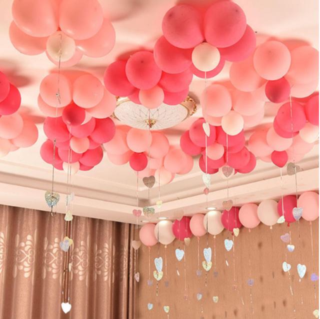 西式气球婚房布置小物图片3