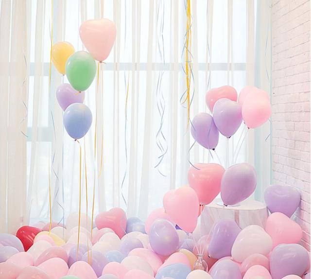 西式气球婚房布置小物图片4