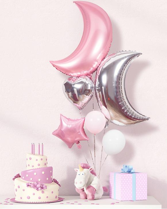 西式气球婚房布置小物图片7